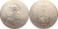 20  Balboas 1971 Panama 20 Balboas Silbermünze - Simon Bolivar st  89,00 EUR  +  6,95 EUR shipping