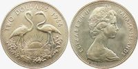 2 Dollar 1966 Bahamas 2 Flamingos - Vögel f.st  27,00 EUR  +  6,95 EUR shipping