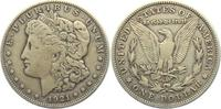 1 Dollar 1921 S USA 1 Dollar - Morgan (1878 - 1921) ss-vz  19,00 EUR  +  6,95 EUR shipping