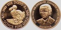 500 Rupien 1988 Mauritius Dodo st  898,00 EUR  +  9,95 EUR shipping