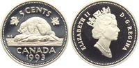 5 Cents 1993 Kanada Biber PP  4,95 EUR  +  3,95 EUR shipping