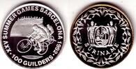 100 Gulden 1992 Surinam Olympiade Barcelona - Randrennen PP  29,00 EUR  +  6,95 EUR shipping