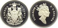 50 Cents 1995 Kanada Wappen PP  7,95 EUR  +  3,95 EUR shipping