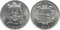 1 Centim 2002 Andorra Karl der Große - Carlemany unc.  4,95 EUR  +  3,95 EUR shipping