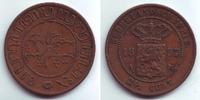2 1/2 Cents 1857 Niederländisch Indien Wilhelm III. (1849 - 1890) vz  19,00 EUR  +  6,95 EUR shipping