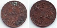 1/12 Anna 1835 Ostindien Company Wilhelm IV. (1830 - 1837) ss-vz  9,95 EUR  +  3,95 EUR shipping