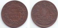 1/4 Anna 1935 Ostindien Company Wilhelm IV. (1830 - 1837) ss  9,95 EUR  +  3,95 EUR shipping