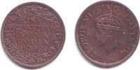 1/4 Anna 1940 Indien George VI. (1936 - 1952) vz-st  4,95 EUR  +  3,95 EUR shipping
