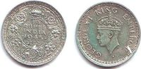 1/4 Rupie 1945 Indien George VI. (1936 - 1952) vz  9,95 EUR  +  3,95 EUR shipping