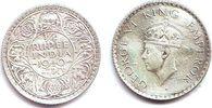 1/4 Rupie 1940 Indien George VI. (1936 - 1952) ss-vz  9,95 EUR  +  3,95 EUR shipping