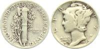 1 Dime 1940 USA 1 Dime - Mercury (1916 - 1945) ss  4,95 EUR  +  3,95 EUR shipping