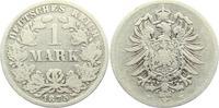 1 Mark 1875 E Kaiserreich 1 Mark - kleiner Adler ss  7,95 EUR  +  3,95 EUR shipping