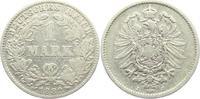 1 Mark 1882 J Kaiserreich 1 Mark - kleiner Adler s-ss  7,95 EUR  +  3,95 EUR shipping