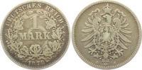 1 Mark 1878 J Kaiserreich 1 Mark - kleiner Adler s-ss  7,95 EUR  +  3,95 EUR shipping