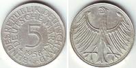 5 Mark 1958 J Deutschland 5 Mark Silberadler ss mit Echtheitszertifikat  298,00 EUR  +  9,95 EUR shipping