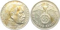 5 Reichsmark 1939 A Drittes Reich Paul von Hindenburg - mit Hakenkreuz ss  13,00 EUR  +  6,95 EUR shipping
