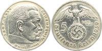 5 Reichsmark 1939 B Drittes Reich Paul von Hindenburg - mit Hakenkreuz ... 13,00 EUR  +  6,95 EUR shipping