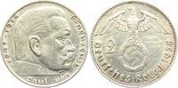 2 Reichsmark 1938 E Drittes Reich Paul von Hindenburg - mit Hakenkreuz ss  4,95 EUR  +  3,95 EUR shipping