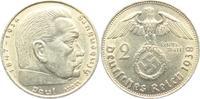 2 Reichsmark 1938 B Drittes Reich Paul von Hindenburg - mit Hakenkreuz ... 3,95 EUR  +  3,95 EUR shipping