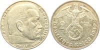 2 Reichsmark 1937 E Drittes Reich Paul von Hindenburg - mit Hakenkreuz ss  3,95 EUR  +  3,95 EUR shipping