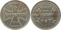 2 Kopeken 1916 A Oberbefehlshaber Ost OBO - 2 Kopeken ss+  9,95 EUR  +  3,95 EUR shipping