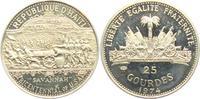 25 Gourdes 1974 Haiti Schlacht von Savannah ex PP  14,00 EUR  +  6,95 EUR shipping