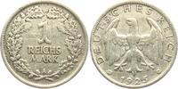 1 Reichsmark 1925 A Weimarer Republik  ss  8,00 EUR  +  3,95 EUR shipping