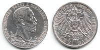 2 Mark 1905 Schwarzburg-Sondershausen Silbermünze - Regierungsjubiläum ... 125,00 EUR  Excl. 9,95 EUR Verzending
