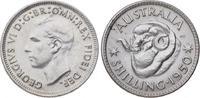 Shilling 1950 Australien Georg VI. 1936-1952. Fast Stempelglanz  20,00 EUR  +  5,00 EUR shipping