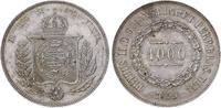 1000 Reis 1859 Brasilien Pedro II. 1831-1889. Vorzüglich-Stempelglanz  110,00 EUR  +  5,00 EUR shipping