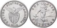 Peso 1909 Peru Republik seit 1821/1825. Fast vorzüglich  65,00 EUR  +  5,00 EUR shipping