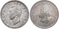 5 Schilling 1937-1952 Südafrika George VI. 1937-1952. Stempelglanz  60,00 EUR  +  5,00 EUR shipping