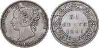 50 Cents 1881 Kanada-Newfoundland Victoria 1837-1901. Kleiner Kratzer, ... 85,00 EUR  +  5,00 EUR shipping