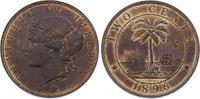 Cent 1896 Liberia  Prachtexemplar. Herrliche Kupferpatina. Winziger Fle... 125,00 EUR  +  5,00 EUR shipping