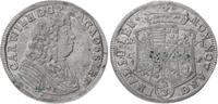 Anhalt-Zerbst 2/3 Taler Carl Wilhelm 1667-1718.