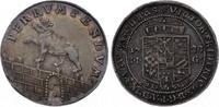 Anhalt-Bernburg 1/6 Taler Victor Friedrich 1721-1765.
