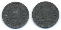 10 Pfennig 1919 Sachsen - Etzdorf Rittergut Etzdorf (H.326.2) vorzüglich  29,00 EUR  +  4,80 EUR shipping