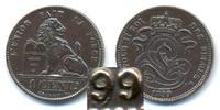 1 Centime - Des Belges 1899 Belgien - Belgium Leopold II. 1865-1909 - V... 32,00 EUR  +  4,80 EUR shipping