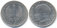 2,-DM 1957 D BRD Max Planck 1957 D - Kupfer/Nickel fast prägefrisch  27,00 EUR  +  4,80 EUR shipping