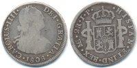2 Real 1808 J.P. Peru - Peru Carlos IV. 1788-1808 schön+  25,00 EUR  +  4,80 EUR shipping