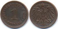 1 Pfennig 1902 G Kaiserreich großer Adler - Kupfer fast vorzüglich  36,00 EUR  +  4,80 EUR shipping