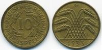 10 Reichspfennig 1933 G Weimarer Republik Kupfer/Aluminium fast vorzügl... 22,00 EUR  +  4,80 EUR shipping
