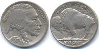 5 Cents 1917 D USA Buffalo Nickel gutes sehr schön - winziger Randfehler  85,00 EUR  +  4,80 EUR shipping