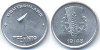 1 Pfennig 1948 A DDR Aluminium prägefrisch+  49,00 EUR  +  4,80 EUR shipping