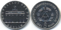 DDR 5 Mark 1981 prägefrisch Brandenburger Tor - Kupfer/Nickel 24,00 EUR