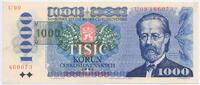 1000 Kronen 1993 (85) Tschechien - Czech Repulic Pick Nr. 3b - gedruckt... 49,00 EUR  +  4,80 EUR shipping