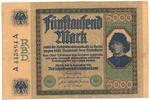 5000 Mark 1922 Deutsches Reich Inflation 1919-1924 Rosenberg Nr. 76 gut... 54,00 EUR  +  4,80 EUR shipping
