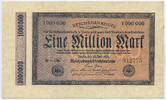 1 Million Mark 1923 Deutsches Reich Inflation 1919-1924 Rosenberg Nr. 9... 25,00 EUR