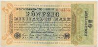 50 Milliarden Mark 1923 Deutsches Reich Inflation 1919-1924 Rosenberg N... 48,00 EUR  +  4,80 EUR shipping