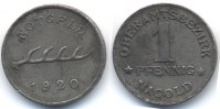 W&uuml;rttemberg 1 Pfennig 1920 sehr sch&ouml;n+ Nagold - Eisen 1920 (Funck 354.5) 69,00 EUR 